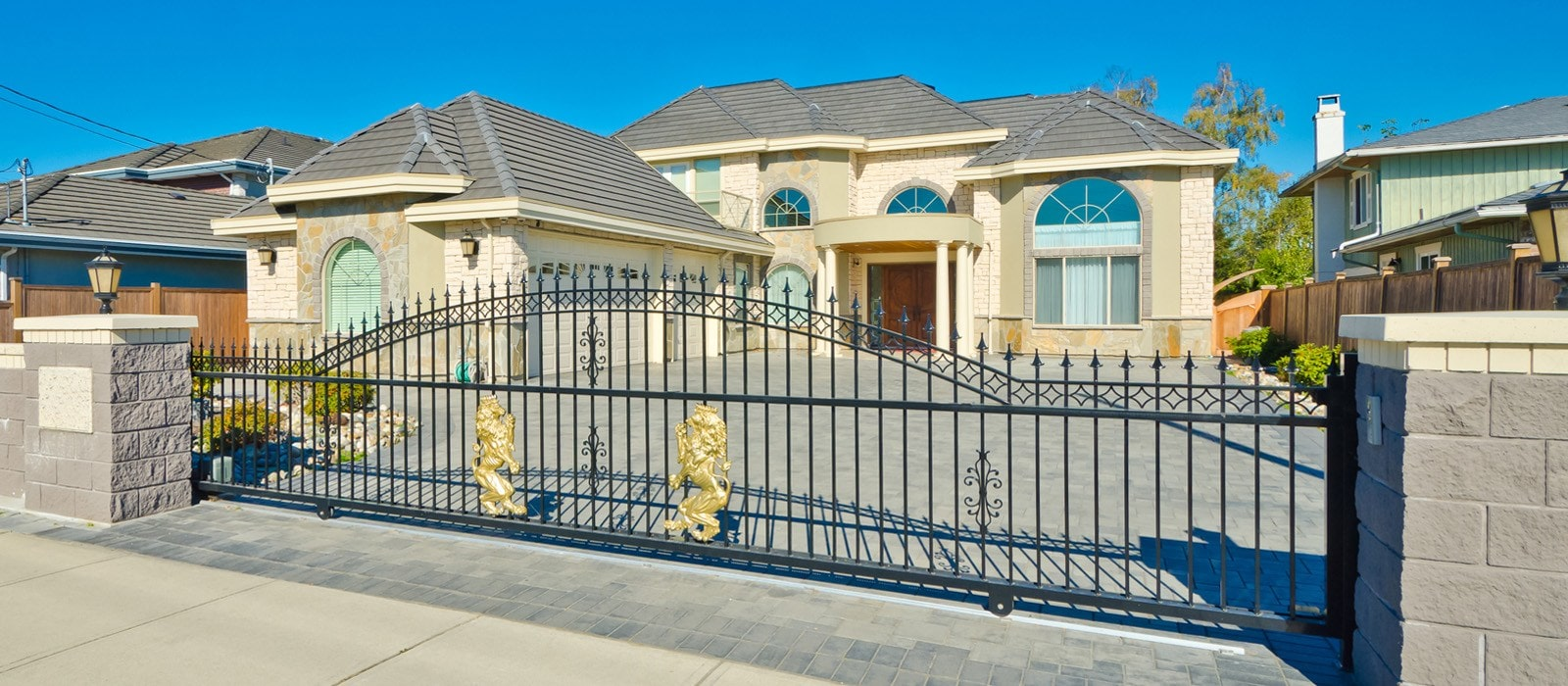 garage wood beach service sale gate up ca gates large for size and panels roll door repair custom long of manhattan